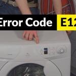 Código de error E12 Candy
