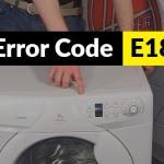 código de error E18
