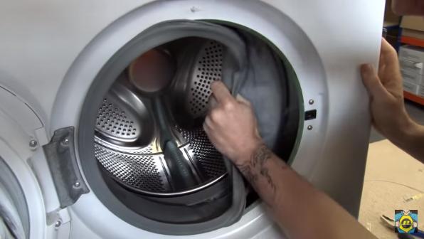 lavadora Cómo reemplazar el bloqueo de la puerta de la lavadora