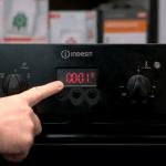 Configurar reloj de horno