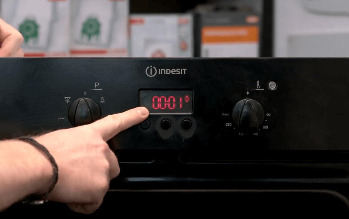 Capture Cómo configurar el reloj del horno