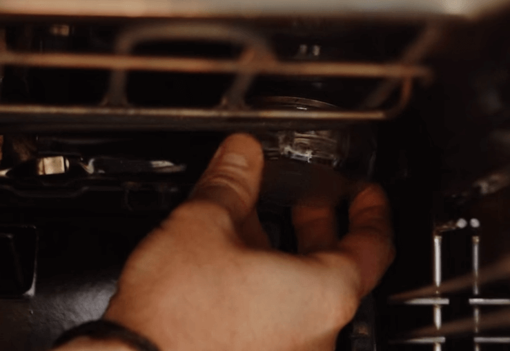 Capture5 Cómo retirar la cubierta de la lámpara para hornos Bosch, Neff y Siemens