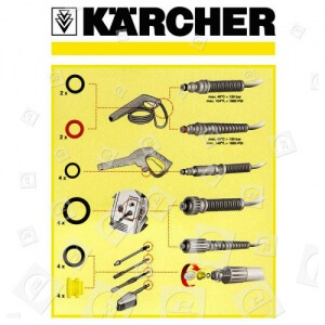 Juntas tóricas mangueras 300x300 3 problemas de una hidrolimpiadora Karcher