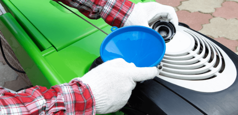 Cómo cambiar el aceite de tu cortacésped Cómo cambiar el aceite de tu cortacésped