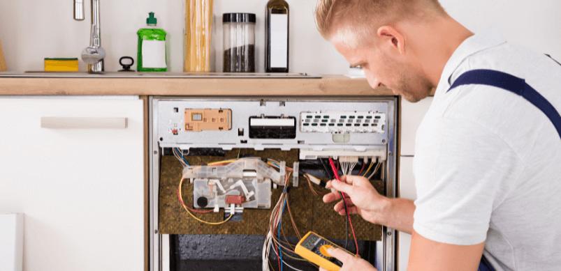 How to diagnose draining and motor problems in a dishwasher advice centre Cómo diagnosticar problemas de drenaje y motor en un lavavajillas